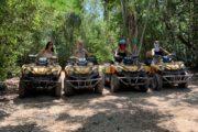 Girls on ATVs